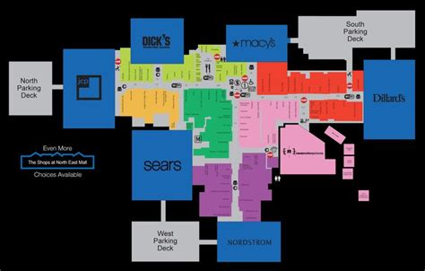 layout of stonebriar mall layout of north east mall in hurst tx reminiscing