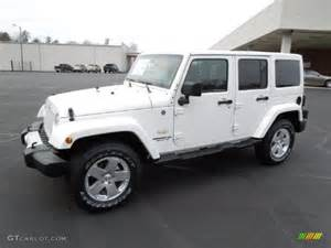 2012 bright white jeep wrangler unlimited 4x4