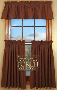 brown swag curtains solid brown curtain valances
