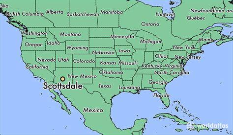 us map scottsdale arizona where is scottsdale az scottsdale arizona map