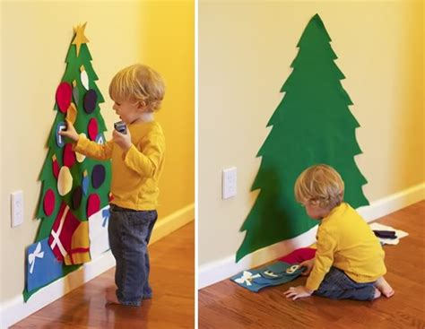 kid friendly christmas tree christmas trees felt