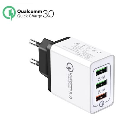 charge 3 0 usb charger for iphone x xs max 8 7 eu wall charger fast charging for samsung