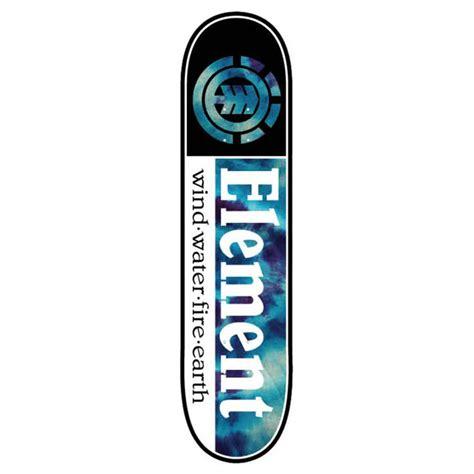 element deck element tie dye section skateboard deck 8 inch free uk