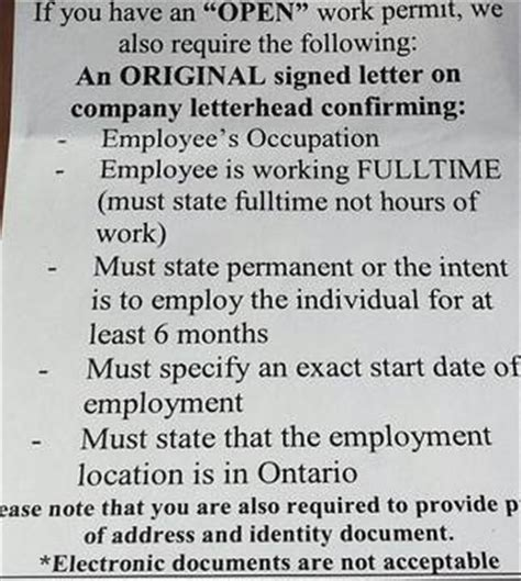 Employment Letter Ohip 40 hours a week for months through temp agency no ohip