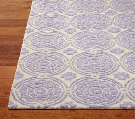 Pottery Barn Kid Rugs Pottery Barn Lavendar Quot Sweet Flower Rug Quot 5x8