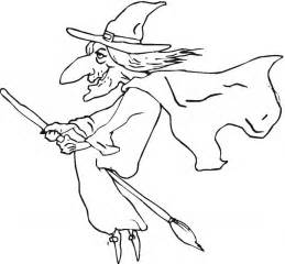 witch pictures to color free printable witch coloring pages for