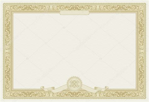 Borderless Certificate Templates by Diploma Borders Vector Studio Design Gallery Best