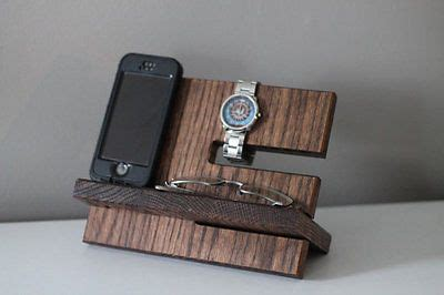 Mens Nightstand Valet by Details About Mens Wood Tray Valet Jewelry Box Storage