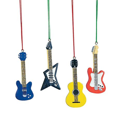 guitar christmas ornaments oriental trading