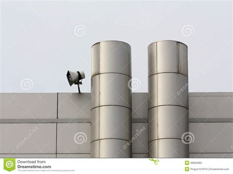 vent pipes on the outside wall stock photo image 39956083