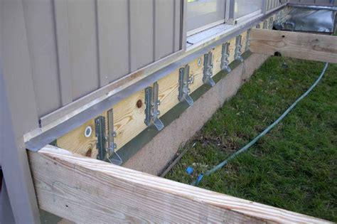 Joist Hangers For Decks by Deck Building Deck Building Ledger Board