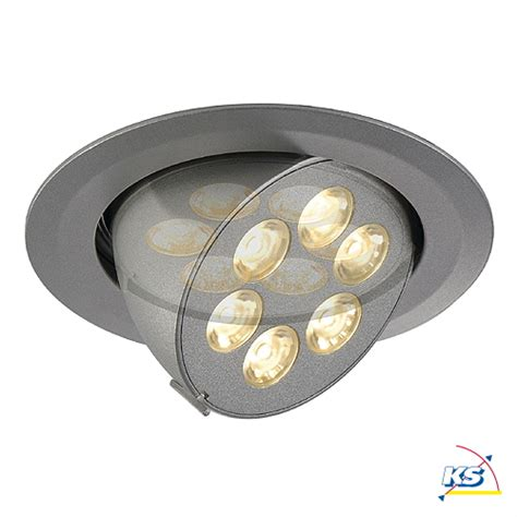 Philips Downlight 2 5 Silver 66661 led deckeneinbaustrahler triton 6 gimble downlight 6x1w