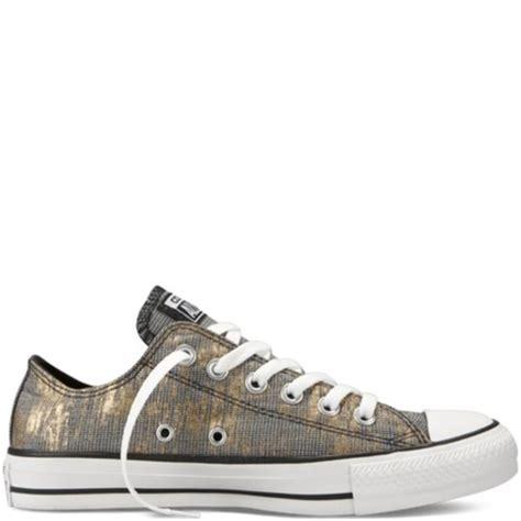 Convers Grey Cover Grey shoes gold grey black metallic converse converse