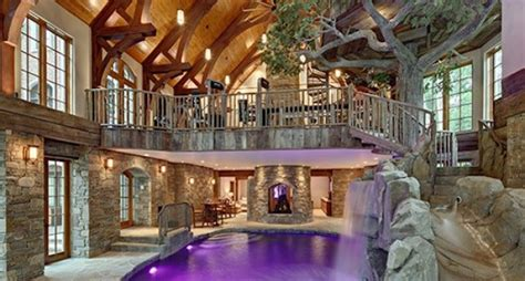 house indoor lakefront dream home lists with indoor treehouse photos