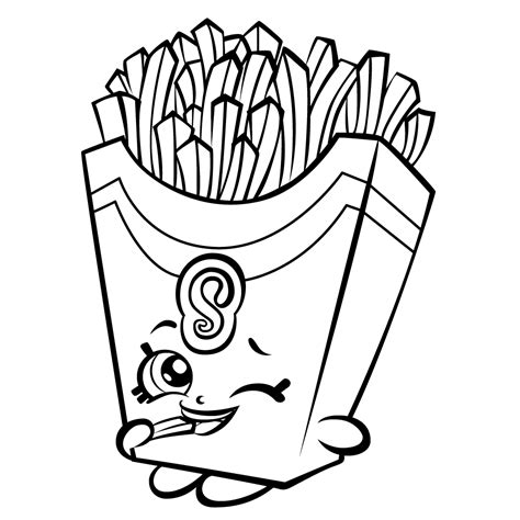 Shopkins Coloring Pages Best Coloring Pages For Kids Painting Pages