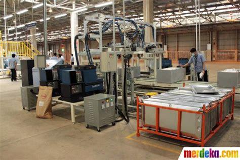 Lemari Es Bandung foto pabrik baru produksi lemari es mesin cuci sharp