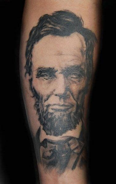 abraham lincoln tattoo abraham lincoln cool tattoos