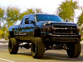 lifted chevy 187 lifted chevy trucks 187 black 07 5 2500hd