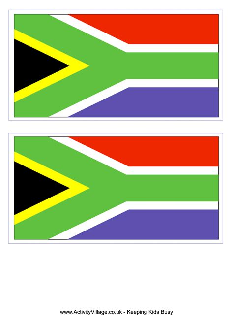 printable american flag a4 south african flag free printable south african flag