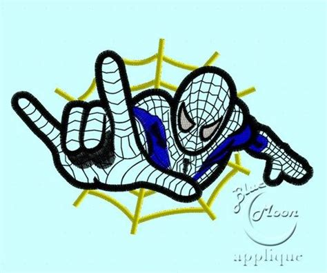 spiderman embroidery pattern spiderman applique design for embroidery machines 5 x 7