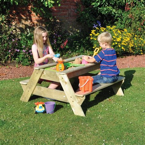 kids garden bench buy kingfisher kingfisher kids sandpit bench