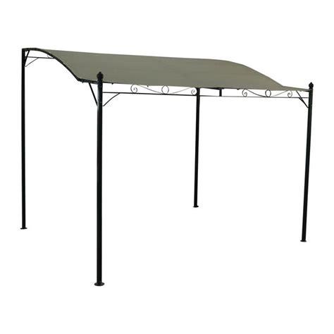 terrassenüberdachung 5 x 4 m tente de jardin pergola 3x2 5m lugdunum toile 233 cru achat