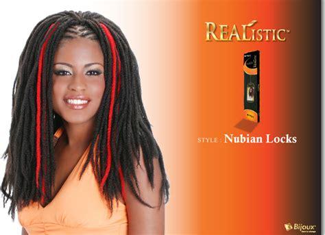 bijoux realistic marley braud bijoux realistic synthetic braid nubian locks