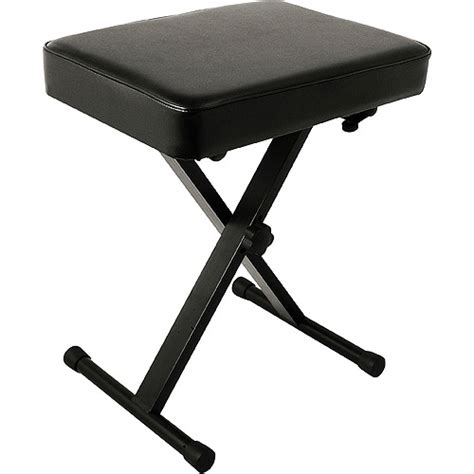 world tour single x keyboard stand deluxe bench package world tour deluxe padded keyboard bench walmart com