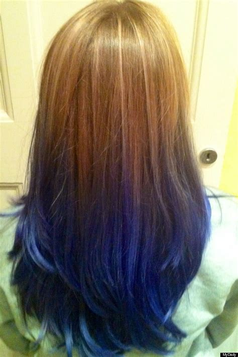 how to dye hair dark underneath gallery for gt underneath hair dyed blue to try