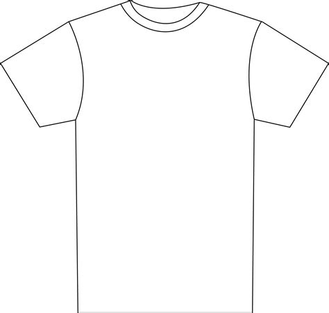 T Shirt Outline by T Shirt Outline Images Search