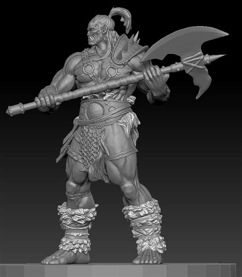 zbrush orc tutorial zbrush orc by chrisgabrish on deviantart