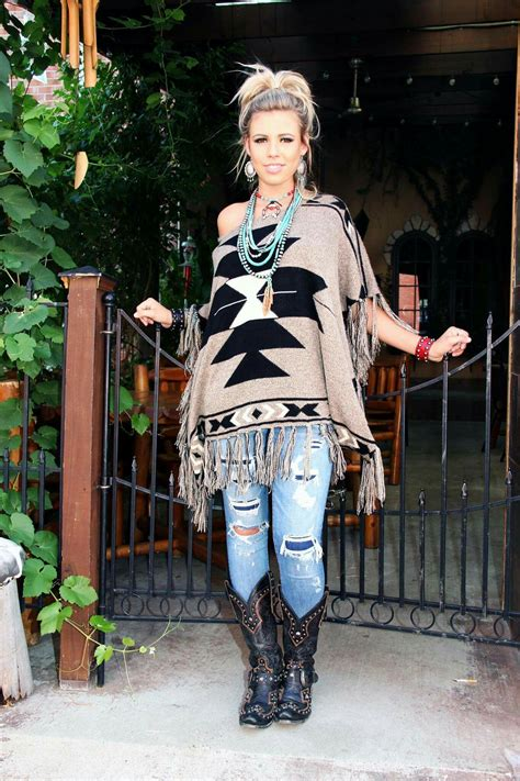 cinco ranch fall fashion tribal aztec cowgirl gypsy