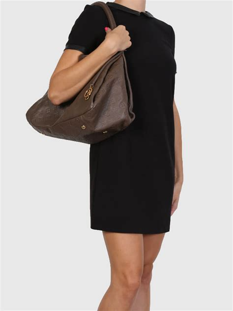 Louis Vuitton Leather louis vuitton artsy mm monogram empreinte leather terre
