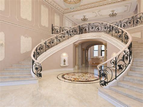 mansion interior 3d model interior classical mansion
