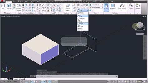 rotate layout view autocad autocad 3d 03 viewport model ucs move rotate align