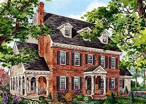 brick colonial house plans best 25 colonial house exteriors ideas on