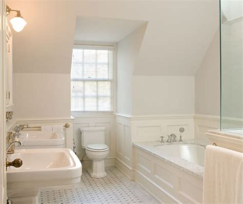 bathroom wainscoting ideas 17 best ideas about bathroom paneling on