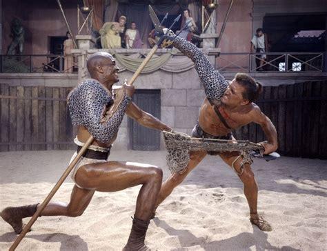 film gladiator spartacus spartacus 1960 kirk douglas and woody strode