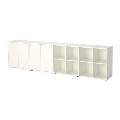 Ikea Slakting Kotak Abu Abu Oranye Isi 3 Eket Kombinasi Kabinet Dengan Kaki Putih Ikea