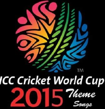 theme song world cup 2015 icc world cup 2015 official song audio vedio streaming