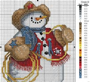 christmas tree ornament crafts snowman cross stitch kits