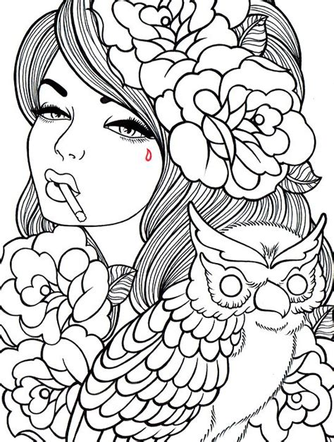day of the dead owl coloring pages free printable day of the dead coloring pages free