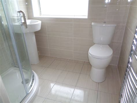 bathroom converted to a shower room creates more space