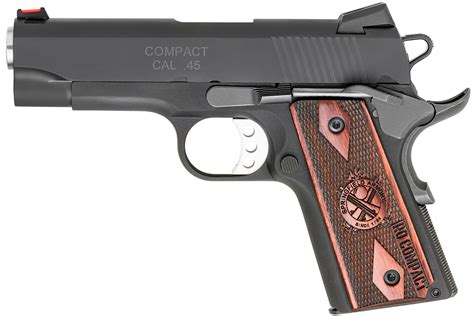 Springfield 1911 Range Officer Review by Springfield 1911 Range Officer Compact 45 Acp Vance Outdoors