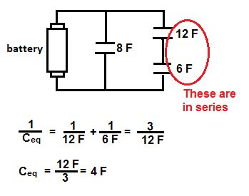 capacitor questions circuit capacitor in series diagram 28 images capacitance why is this charge distribution in correct