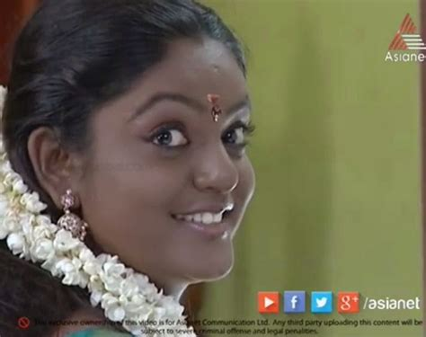 karuthamuthu actress without makeup karuthamuthu new malayalam serial in asianet from 20th