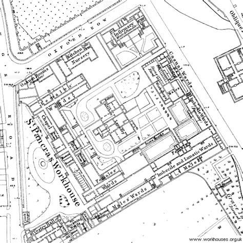 st pancras floor plan the workhouse in st pancras london middlesex
