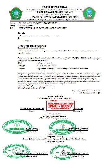 contoh surat dikltama cbp kkp masjuwaini