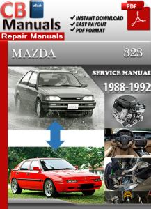 service manual car owners manuals free downloads 1992 dodge ram wagon b350 engine control mazda 323 1988 1992 service manual free download service repair manuals