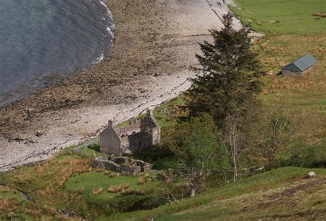 derelict cottage on the shore wester 169 anthony o neil